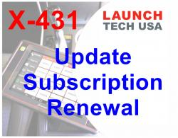 how much is the renewal subscription card for a launch crp423
