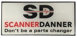 ScannerDanner Logo Magnet