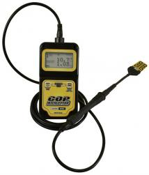 Can the included probe be used with an oscilloscope? Does the devise have a scope output?