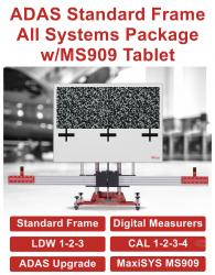 ADAS Standard Frame All Systems 2.0 T with MaxiSYS 909 Tablet with 1-year Subscription Questions & Answers