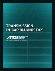 Transmission In-Car Diagnostics Questions & Answers