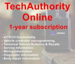 Is it available 1 year subscription for techauthority?