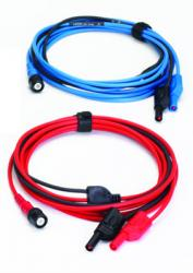 Are these test leads compatible with the Fluke125B