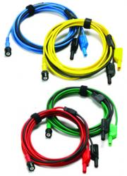 Premium test leads 3M long (set of 4)