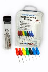 will the AES' Electronics Accupuncture Probes plug into the snap on verus test leads