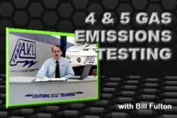 Bill Fulton's 4/5 Gas Emissions Testing